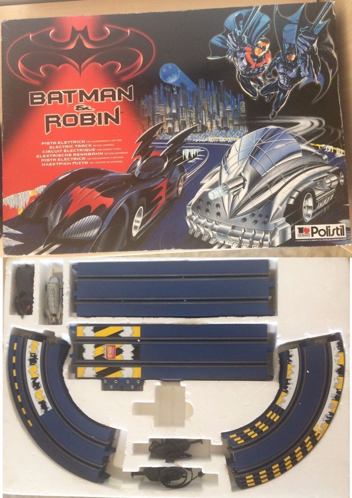 Batman & Robin pista Polistil