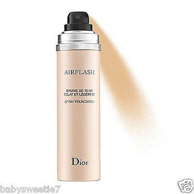 Dior Diorskin Airflash Spray Foundation 70ml 100 Ivory NIB France