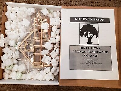 New Exquisite Workmanship O Gauge Kits By Emerson Alonzo Hardware In