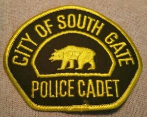 City Of South Gate >> Details About Ca City Of South Gate California Police Cadet Patch