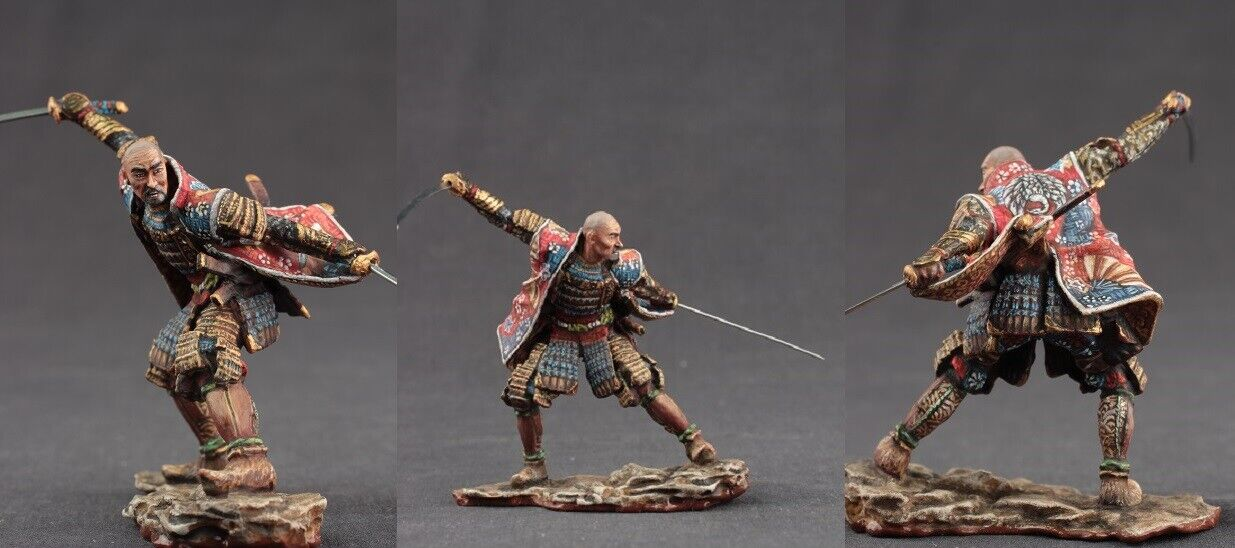 Tin toy soldiers ELITE painted 54 mm Samurai
