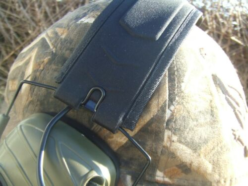 Green Folding Electronic Active Protection Earmuffs Hunting Ear Defenders