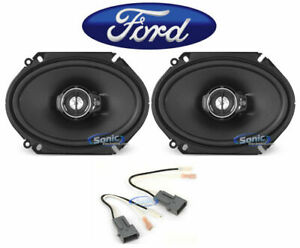 Image Is Loading Kenwood 6x8 034 Front Factory Speaker Replacement Kit