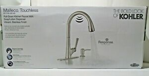 Details about Kohler Malleco Touchless Pull-down Kitchen Faucet w/ Soap  Dispenser - No Manual
