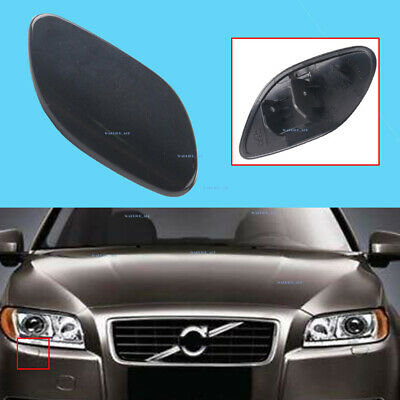 Pikki Front Bumper Headlight Washer Nozzle Jet Cover Cap for Volvo S80 2007-2013