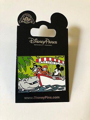 Disney MICKEY /& GOOFY JUNGLE CRUISE New on Card Character Trading Pin