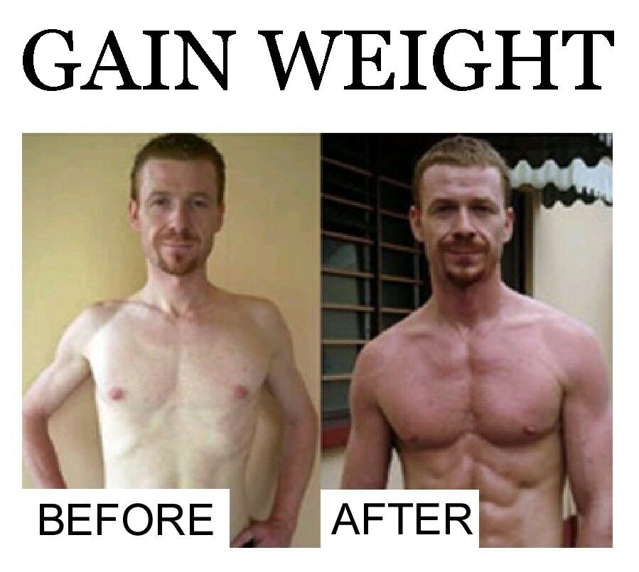 POWERFUL GAIN WEIGHT® GAIN MUSCLE 4 bottles FREE P&P worldwide