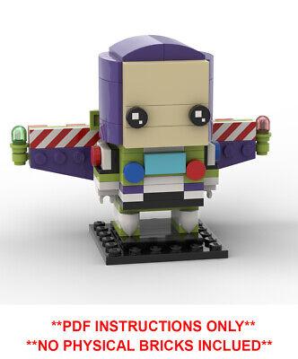 PDF INSTRUCTIONS ONLY Custom MOC Lego Brickheadz Queens Royal Guard