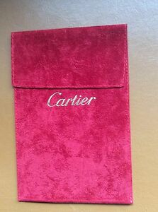 Authentic Cartier watch travel pouch - Alnwick, Northumberland, United Kingdom - Authentic Cartier watch travel pouch - Alnwick, Northumberland, United Kingdom
