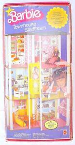 Mattel-Germany-BARBIE-TOWNHOUSE-CITYHALL-12-034-Doll-Acc-Playset-Set-MIB-79-RARE