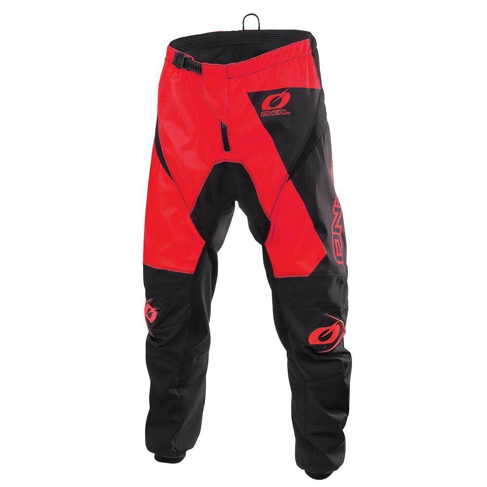 O 'Neal Matrix ridewear MX DH MTB Pant 2019 Pantaloni Lungo Rosso/Nero 2019 Pant ONEAL ab1060
