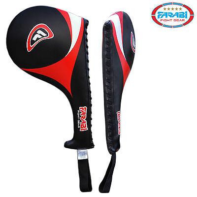 Taekwondo Racket Kick Pad Training Mitt Pad Mix Martial Arts Kicking Target