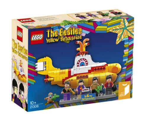 LEGO Beatles Ideas # 15 Sealed // Original Box Yellow Submarine # 21306 Rare