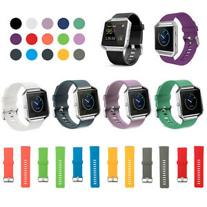 3x Band For Fitbit Blaze S/ L Silicone Buckle Sports