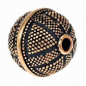 Wikinger-Perle Nr. P12 / Loch 3 mm, Perle, Bartperle, Haarperle, Haarschmuck
