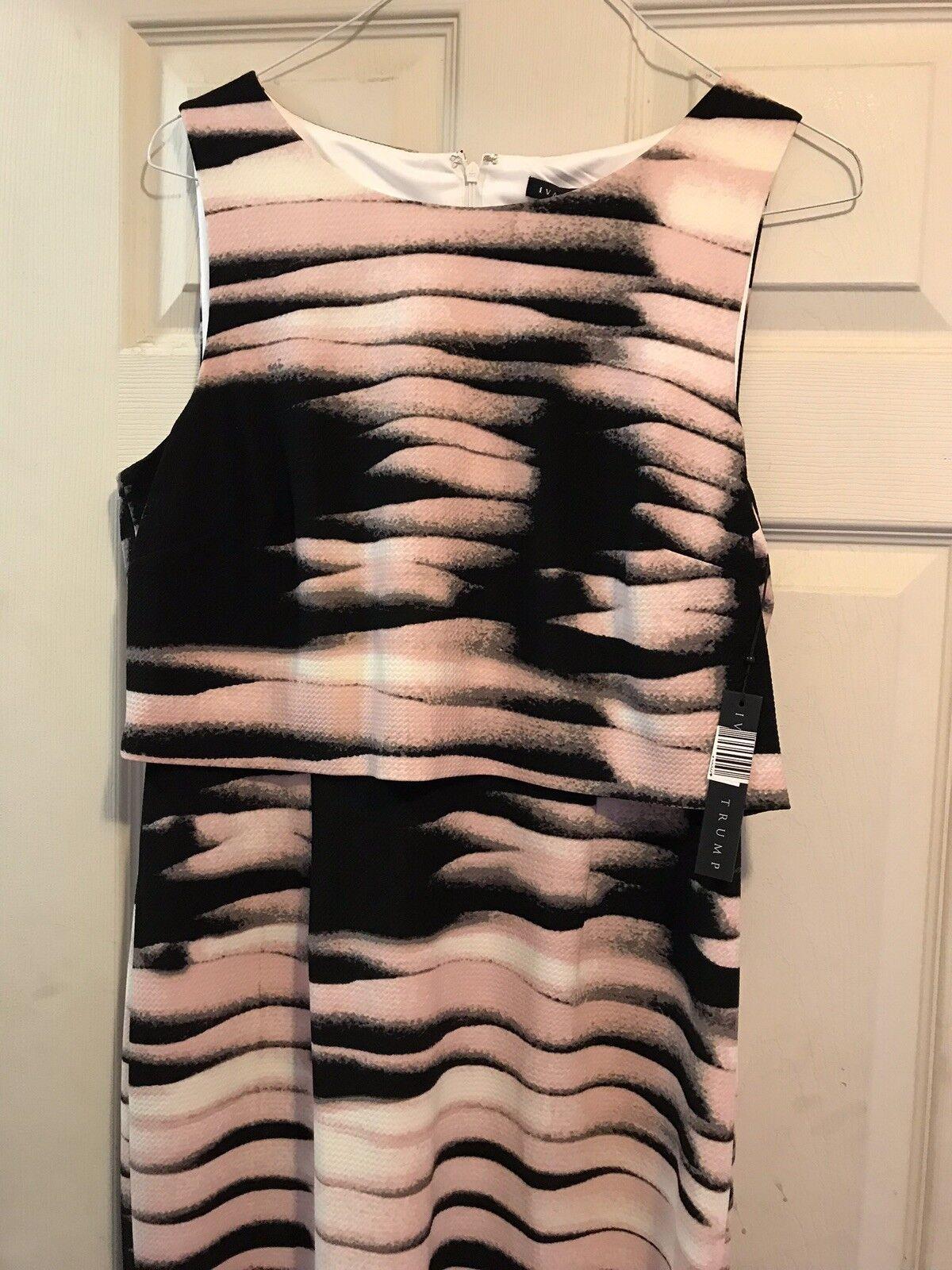 NWT Ivanka Trump Popover Dress Size 14