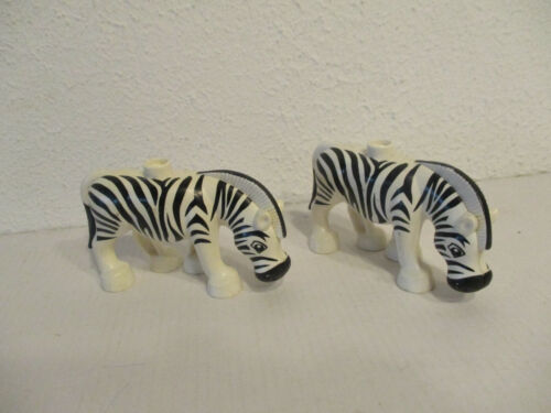 E6 Lego Duplo Zoo Safari Animali Selvaggio Accessori Selezione Set kg Raccolta