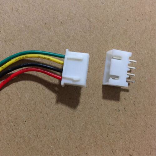 20 Sets JST XH 2.5-4 Pin Battery Connector Plug Female /& Male with Wire