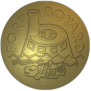 NEW FRANCE MEDAL TV GAME FORT BOYARD форт боярд 2020 @ RARE !