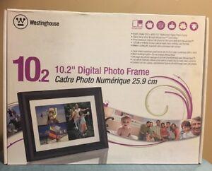 Digitaler Bilderrahmen Westinghouse 10.2 Zoll LCD Foto