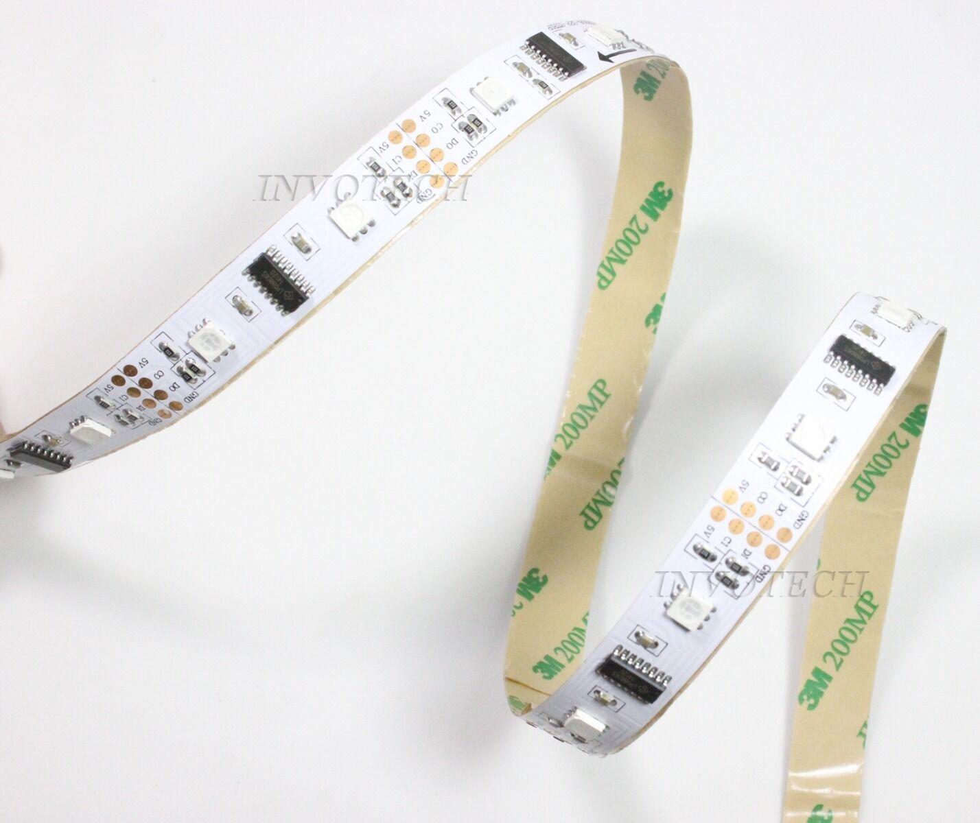 5V 1 5M LPD8806 32 52 60 LED m Addressable 5050 RGB Pixel Digital LED Streifen K