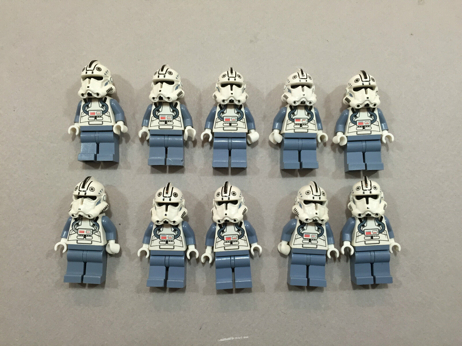 LEGO Clone Trooper Lot of 10 Star Wars Wars Wars Minifigure minifig Huge LOT Clones T139 63a6a8