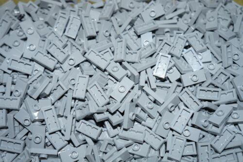 LEGO 100 x LIGHT GREY FLAT TILE 1x2 WITH STUD 3794//15573 STAR WARS CITY