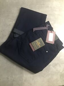 Waist Dark Fit Bnwt Baker Ted Mens 34 Wash £110 Straight Jeans Denim 34l WpfY4PFf