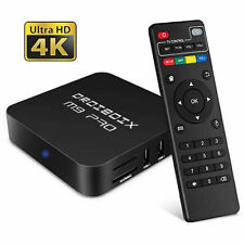NEW M9 Pro Quad Core Android 6.0 Smart TV Box  KODI 17 4K HD Media Player UK