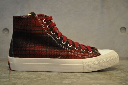 Visvim Buffalo Red Skagway Ck black High Hi qqrgwxSU
