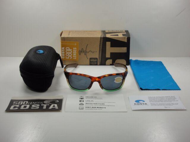 ca225226e4 Costa Del Mar Trevally GT 77 Matte Tortuga Fade Sunglasses Grey 580p ...