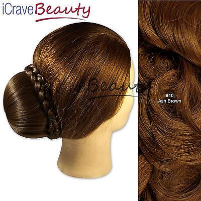 Clip in Hair Bun - Bella Ballerina Style Bun Hairpiece - All Colours
