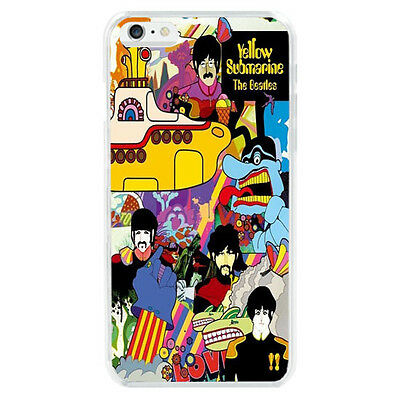 Retro The Beatles Yellow Submarine Protector Case Cover For iphone 6 6S 7 Plus