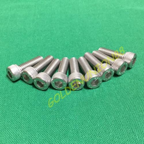 9~12PC M8 *25mm Allen Hex SUS 304  Socket Cap Head Screw Bolts Stainless Steel