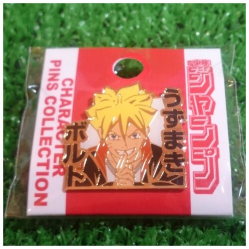 Jump Shop Naruto Gaiden Character Pins Collection Uzumaki Boruto