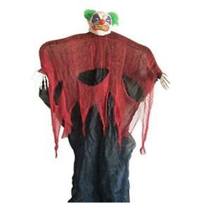 82-034-Big-Size-Light-Sound-Hanging-Clown-Scary-Horror-Decorative-Figure