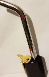 "Trailer Lock 1//2/"" Hitch Pin with Lock For Bike Rack Trailer Locking  RV Truck"