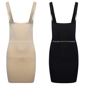 Shapewear-Underbra-Control-Dress-Body-Slip-Shaper-Waist-Cincher-Tummy
