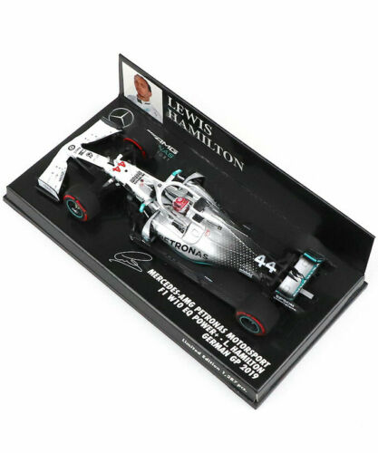 Minichamps Mercedes F1 W10 Alemán GP 2019-Lewis Hamilton Escala 1//43