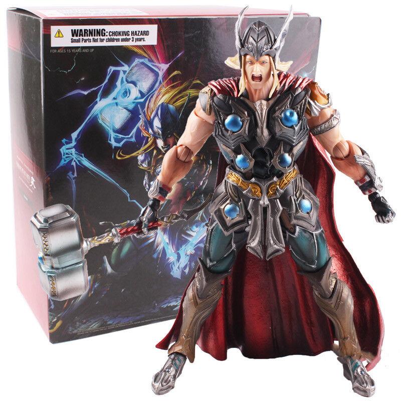 Marvel - universum - variante spielen kunst kai thor pvc - actionfigur modell.