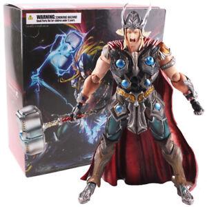 Marvel-Universe-Variant-Play-Arts-KAI-Thor-PVC-Action-Figur-Modell-Spielzeug