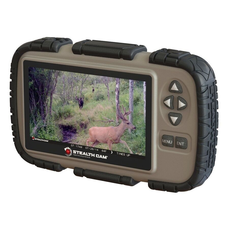 Stealth Cam 4.3  LCD SD Card Game Camera Picture Viewer Reader STC-CRV43