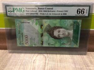 Venezuela-5000-Bolivares-2016year-PMG-66EPQ