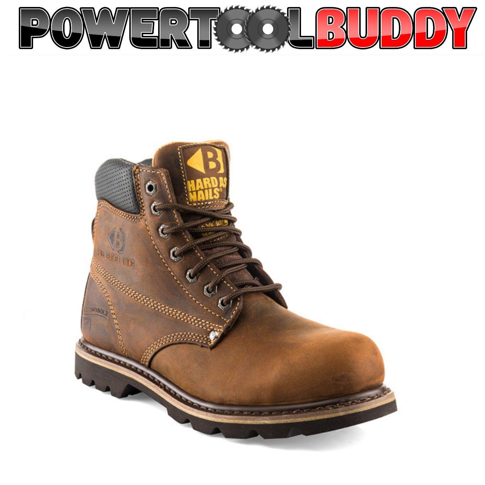 BUCKLER B425SM Hard Boot As Nails DARK Bown Boot Hard Di Sicurezza & Intersuola TG 6/40 a 13/47 79fa4a