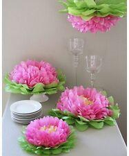 Tissue paper pom flowers 14 inch - Birthday/Wedding/Table Centerpiece/Photoshoot