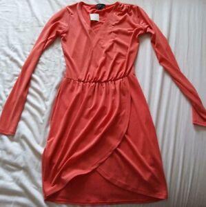 Topshop-Ladies-Pink-Dress-UK6