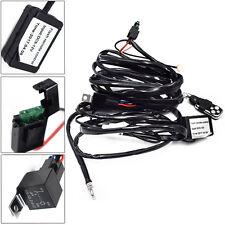 1PC 12V Remote Control Flash Strobe 2Lead LED Light Wiring Harness Kit Wonderful