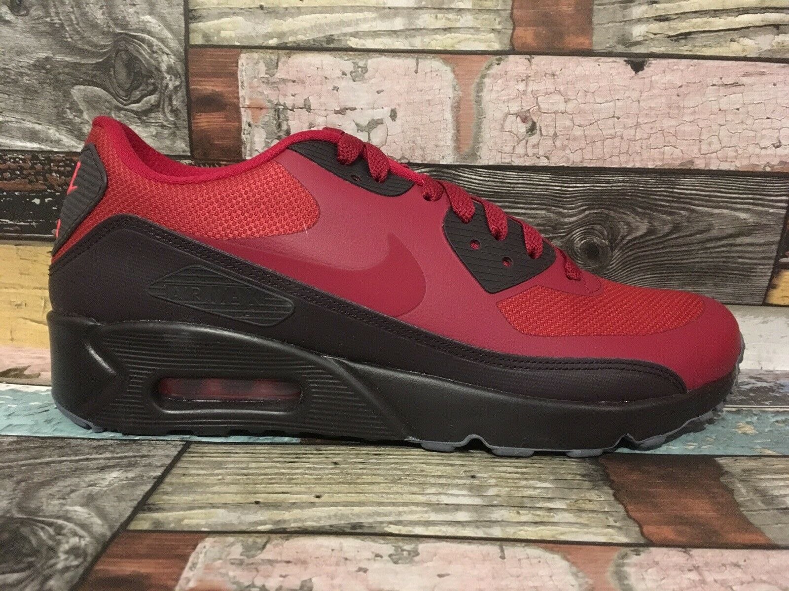 1Q NIKE AIR MAX 90 ULTRA 2.0 ESSENTIAL   US 7   875695-602 NOBLE RED