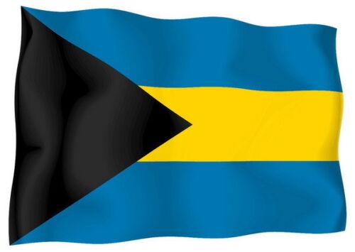 Aufkleber Auto Sticker tuning motorrad Autoaufkleber Fahne Flagge bahamas