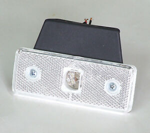 6-X-BLANC-LED-FEUX-DE-GABARIT-A-24V-CAMIONS-BUS-CHASSIS-MAN-DAF-VOLVO-SCANIA